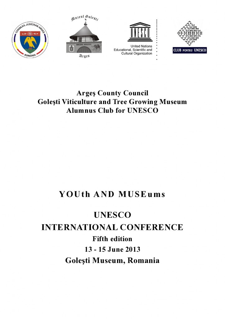 Program UNESCO V 2013